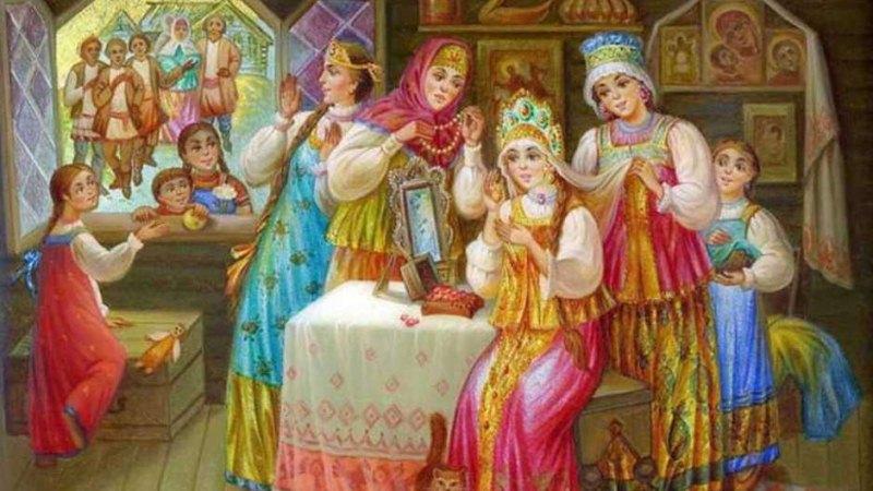 Русские свадебные обряды